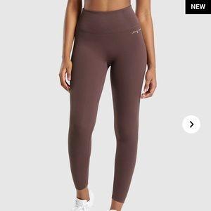 Gymshark x Whitney Simmons rib waist legging